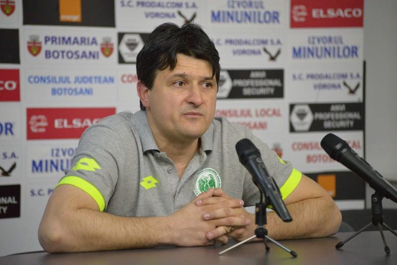 """Antrenorul Chiajnei, Adrian Falub: """"Este o victorie meritată deşi poate că scorul este puţin exagerat"""""""