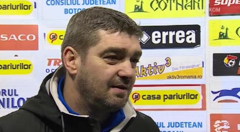 Antrenorul FC Botoșani cere amânarea meciului cu Poli Iaşi!