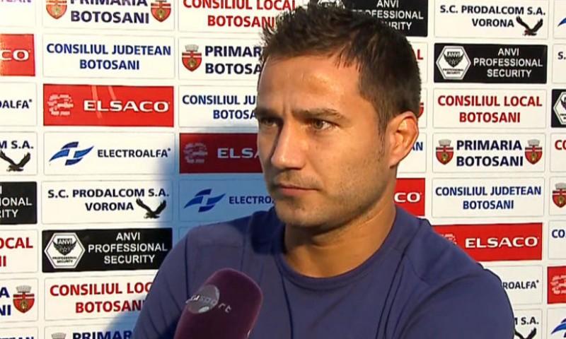 """Antrenorul FC Botoşani: """"Vom avea aceeaşi abordare ofensivă cu Astra"""""""