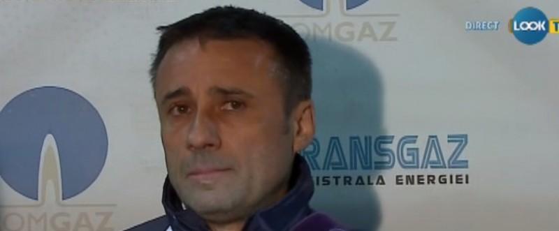"""Antrenorul Mediasului, nemultumit de egalul cu Botosani: """"Am avut un moment de adormire"""""""