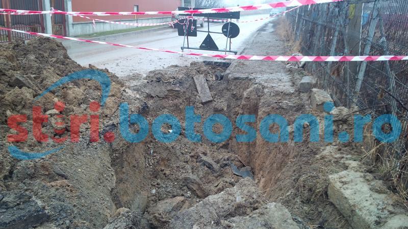 Alimentarea cu apă se întrerupe, astăzi, pe o stradă din municipiul Botoșani și în alte trei localități!