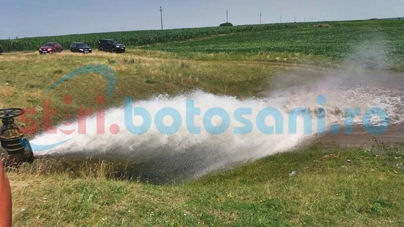 Apă gratuită din sistemul de irigații de la Manoleasa cel puțin zece ani FOTO