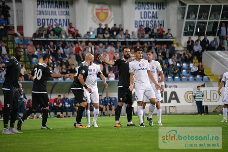 Apararea celor de la FC Botosani, cea mai slaba prestatie de la inceputul acestui sezon! VIDEO