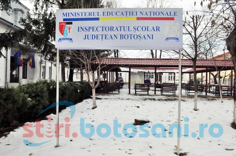 Apel făcut de Inspectoratul Școlar Botoșani către agenții economici