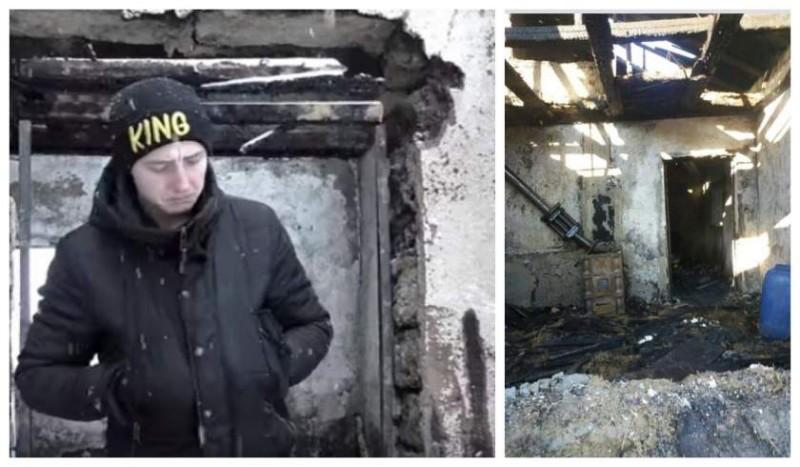 """Apelul disperat al lui Alin, tânărul tată căruia i-a ars casa, în Botoşani: """"Am patru copii, nu pot să-i ţin pe drumuri!"""" - VIDEO"""