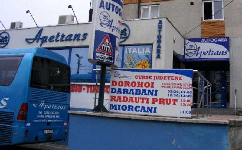 Apetrans, prima companie de transporturi de la Botoșani care pune lacătul pe ușă
