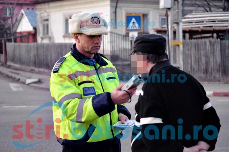 Aproape de comă alcoolică! Un șofer din Curtești a fost prins cu o alcoolemie enormă!