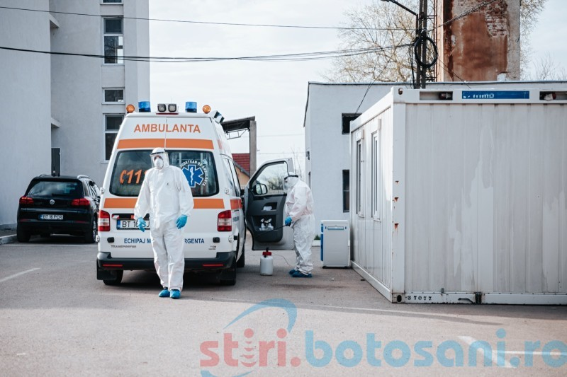 """Aproape o mie de botoșăneni infectați cu COVID, încă un deces înregistrat la """"Mavromati"""""""
