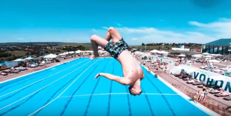 Aquapark&sports Cornișa din Botoșani impresionează din nou turiștii din România!