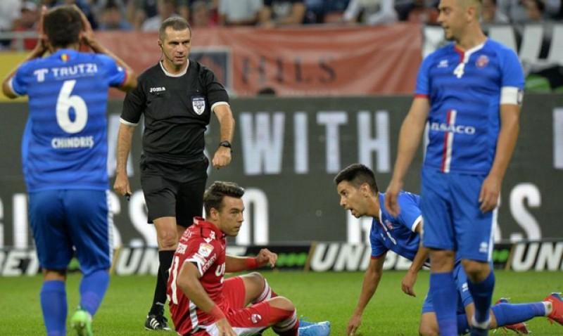 Arbitrul George Rădulescu, măcelarul Botoșaniului! Greșeli grave făcute de acesta în ultimele sezoane, împotriva echipei lui Iftime!