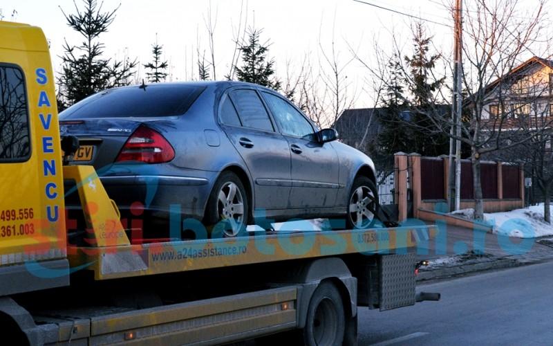 Arest preventiv înlocuit cu control judiciar după o aventură cu un Mercedes şi o urmărire prin două comune!