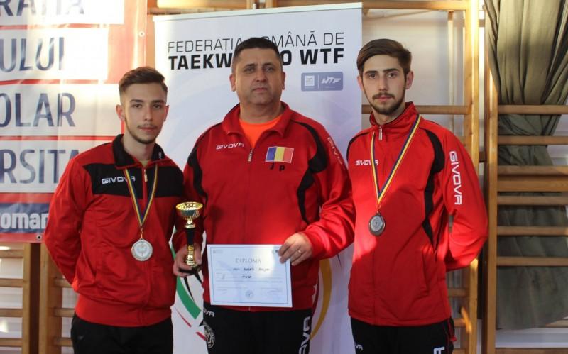 ARGINT pentru sportivii de la Brilliant Taekwondo, la Campionatul Național Universitar! FOTO