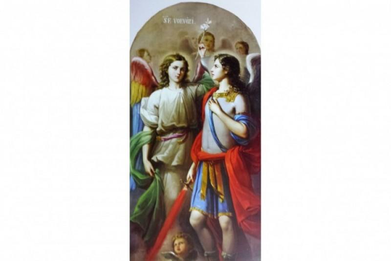 Arhanghelul Gavriil și tricolorul românesc