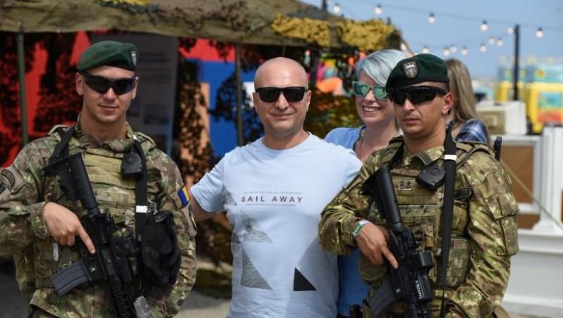 Armata Română caută recruți printre tinerii care vin la festivalul Neversea