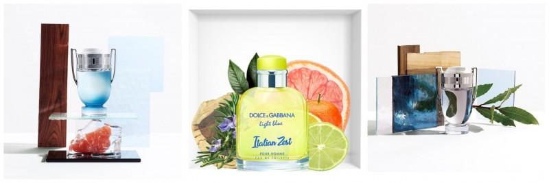 Aromele de vară în parfumurile bărbătești