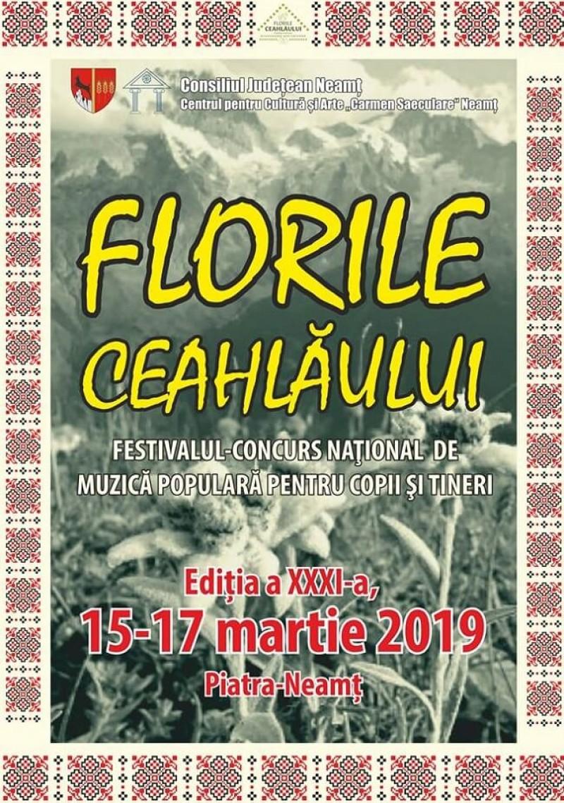 """Artiste din Botoșani laureate ale Festivalului """"Florile Ceahlăului"""" 2019"""
