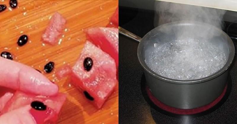 Arunci semintele de la pepene? Iata ce se intampla daca le fierbi
