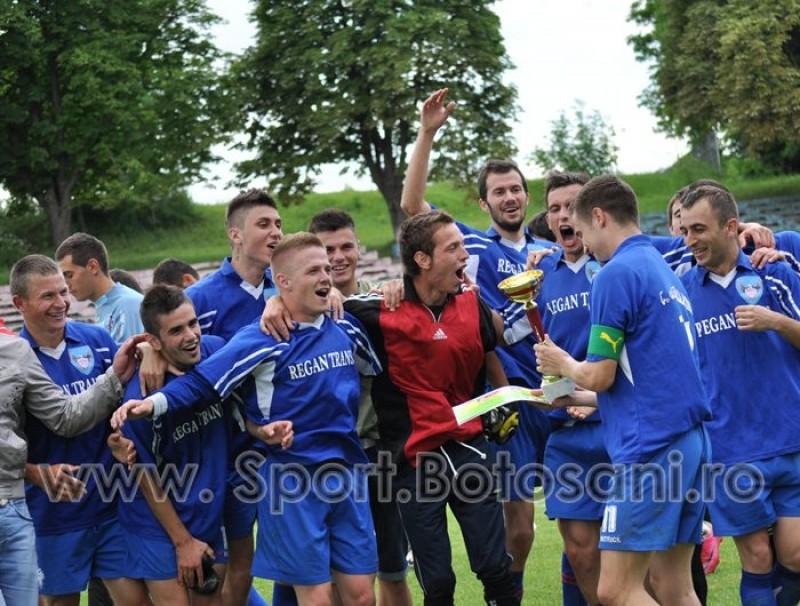 AS Roma s-a calificat in Faza 1 a Cupei Romaniei Timisoreana, dupa ce a invins in finala judeteana pe FC 2 Botosani cu scorul de 4-2