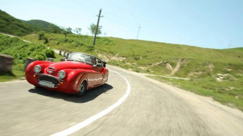 Așa arată mașina UNICAT produsă de un român!