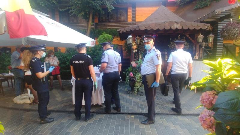 Aseară: Restaurante și terase luate cu asalt de forțele de ordine. Amenzi de zeci de mii de lei (foto)
