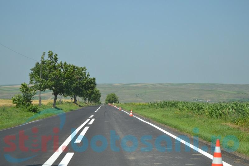 Asfalt nou promis pe zeci de kilometri de drum național din județul Botoșani