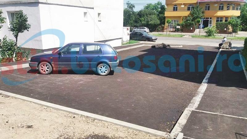 Asfaltări, trotuare noi și parcări în mai multe cartiere din Botoșani. Unde se lucrează! FOTO