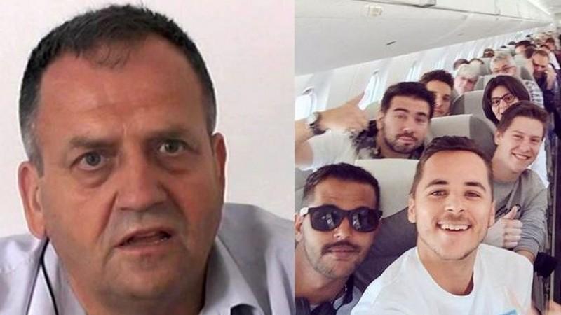 Asistați sociali tăiați de la ajutor după ce primarul i-a prins pe Facebook, zâmbindu-i din avion și cu copiii acoperiți cu bani!