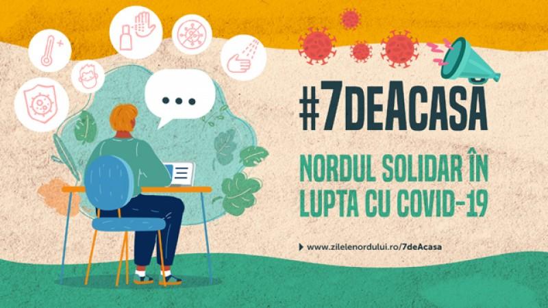 Asociația Nord face un apel la unitate și lansează campania #7deAcasă
