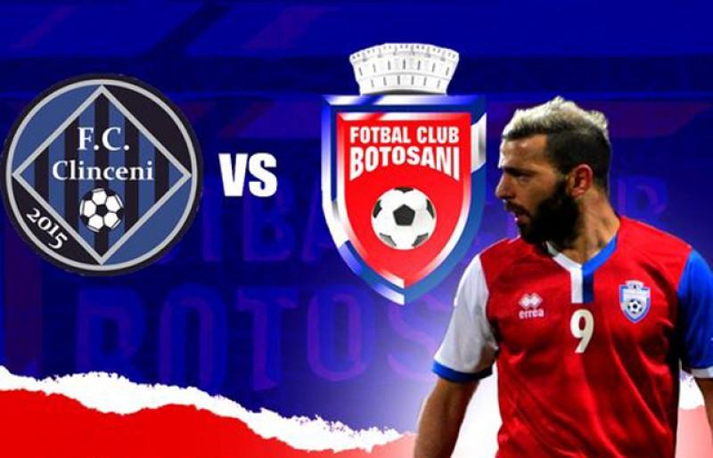 Astăzi: Academica Clinceni - FC Botoşani, miercuri, ora 14.30