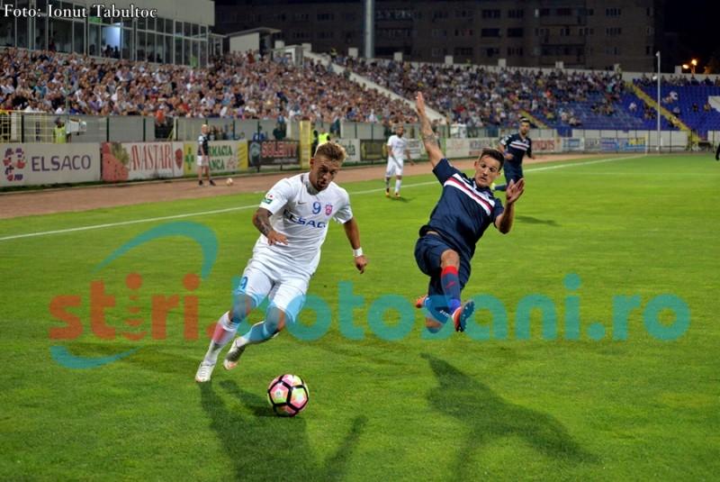 ASTAZI: ASA Targu Mures - FC Botosani, cu Sebastian Coltescu la centru