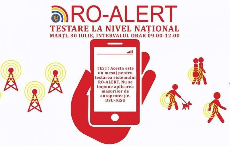 """Astăzi au loc ultimele teste RO-Alert. ISU Botoșani: """"Suntem conștienți de disconfortul creat, însă derularea este obligatorie"""""""