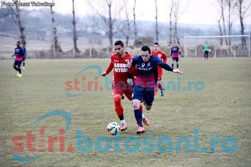 ASTAZI: CS Mioveni - FC Botosani, cu un arbitru asistent din Botosani!