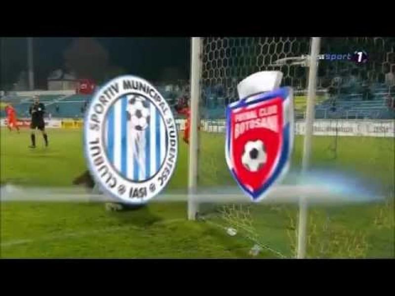 Astăzi: CSM Iaşi- FC Botoşani
