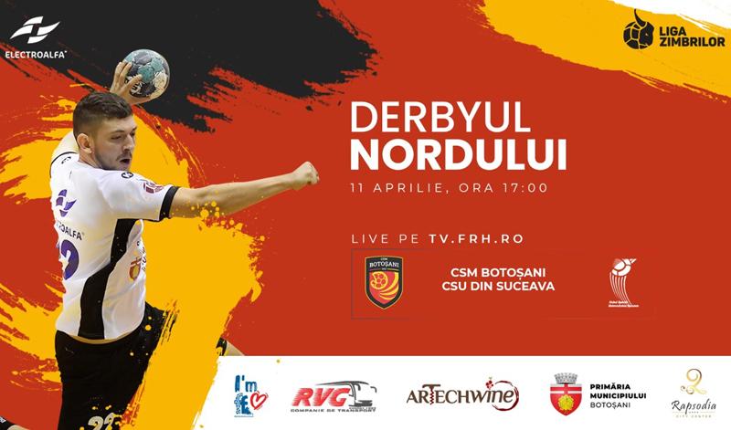 Astăzi: Derbyul Nordului la Handbal! CSM Botoșani caută prima victorie a sezonului împotriva rivalei