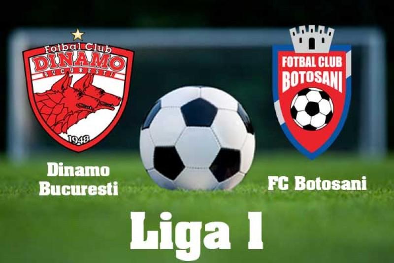 Astăzi: Dinamo- FC Botoşani, în play-out-ul Ligii I