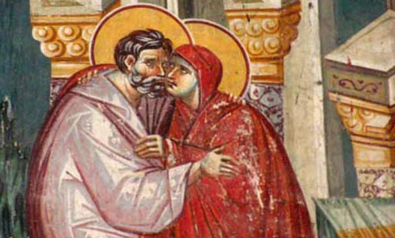 Astazi este ziua Drepților Ioachim și Ana, bunicii lui Hristos