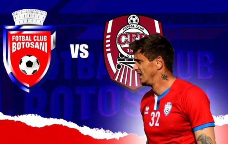 Astăzi: FC Botoşani - CFR Cluj, ora 21.00