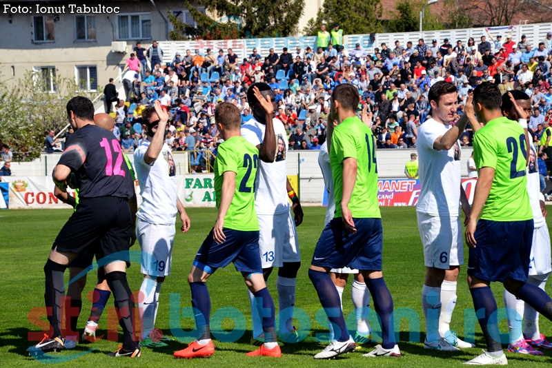 ASTAZI: FC Botosani - CSMS Iasi! Arbitru contestat de ieseni!