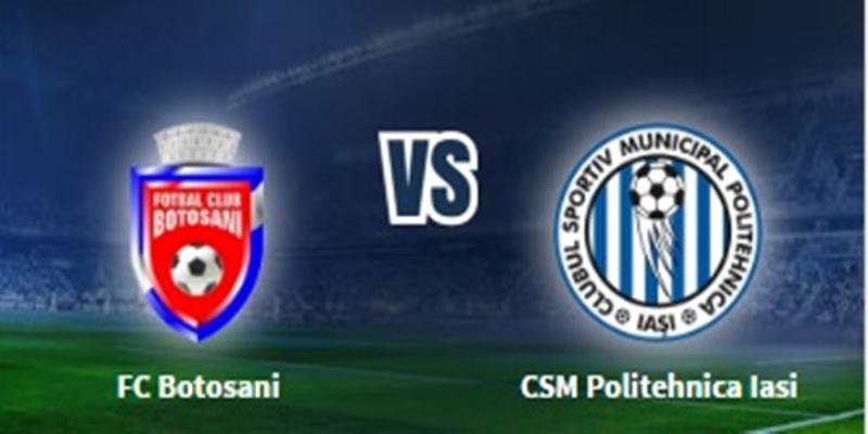 Astăzi: FC Botoşani-CSMS Iaşi- Cupa României
