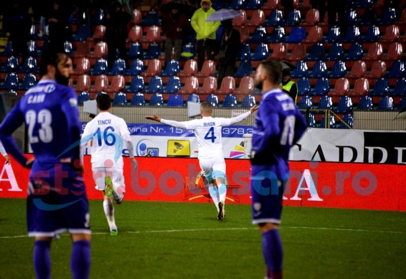 ASTAZI: FC Botosani - Poli Timisoara. Va arbitra un necunoscut!