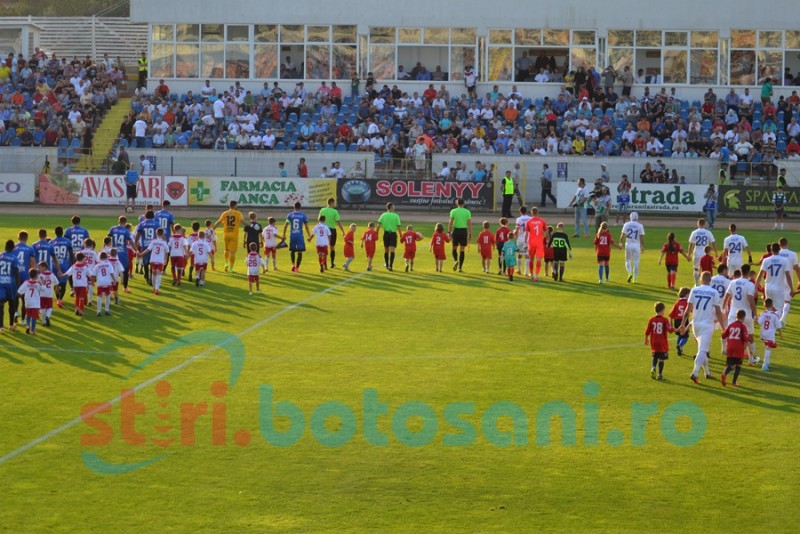 ASTAZI: FC Botosani - Viitorul Constanta, cu Marcel Birsan la centru