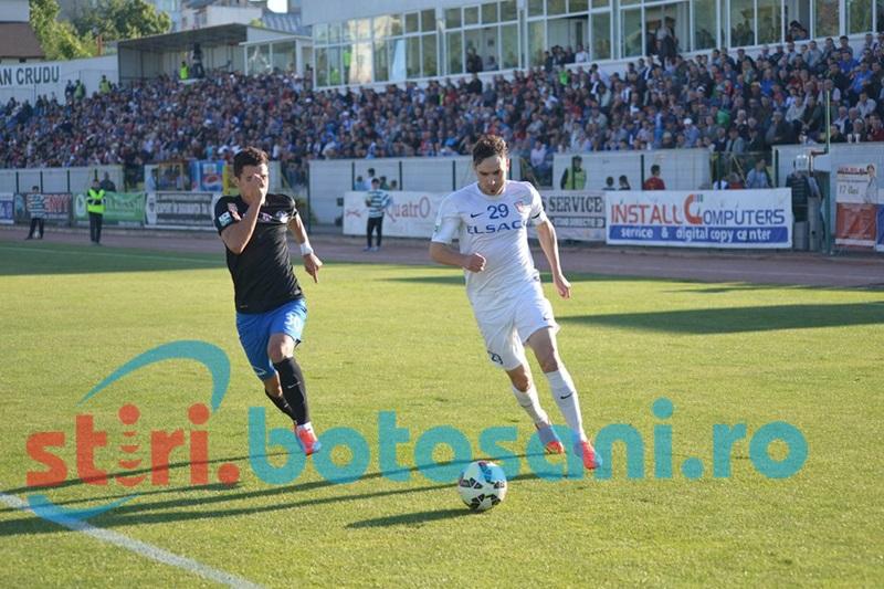 ASTAZI: FC Botosani - Viitorul! Gica Hagi si-a anulat antrenamentul de la Roma!