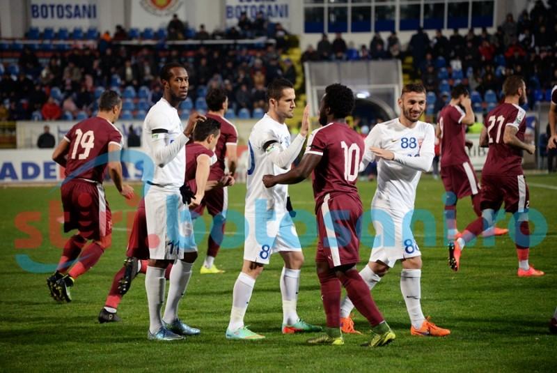 ASTAZI: FC Voluntari - FC Botosani, cu Sebi Coltescu la centru