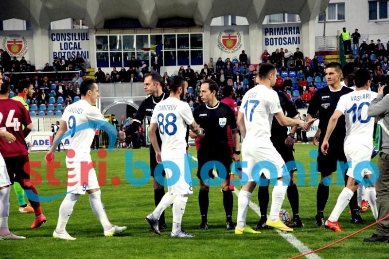 ASTAZI: FC Voluntari - FC Botosani, primul meci din etapa a III-a