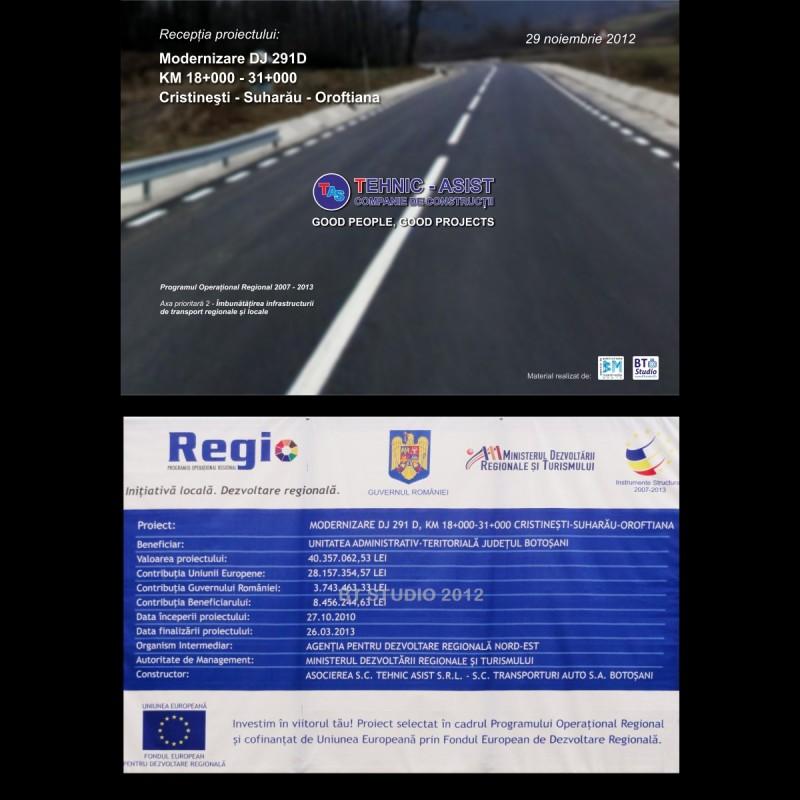 Astazi: Inaugurarea drumului Oroftiana – Suharău – Cristineşti! Vezi cum arata drumul inainte de modernizare!