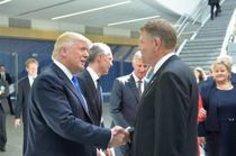 ASTĂZI - Întalnirea Trump - Iohannis: cei doi președinți vor susține o conferință de presă comună