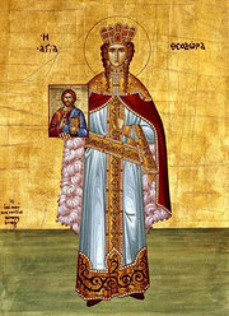 Astăzi o cinstim pe Sfânta Teodora! VIDEO