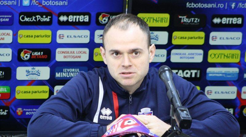 """Astăzi, ora 18.30: FC Hermannstadt - FC Botoșani. """"Credem că putem termina pe primul loc acest play-out!"""""""