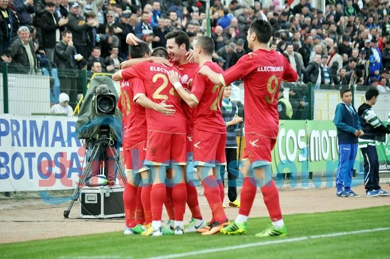 ASTAZI: Rapid Bucuresti - FC Botosani, in Cupa Romaniei