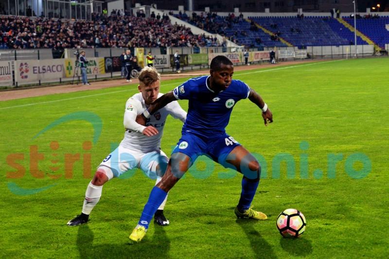 ASTAZI: Sebastian Coltescu va arbitra meciul Concordia Chiajna - FC Botosani